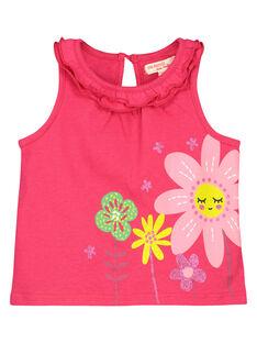 Baby boys' printed vest FIYEDEB / 19SG09M1DEB304