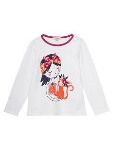 Off white T-shirt JAVITEE1 / 20S901D2TML001