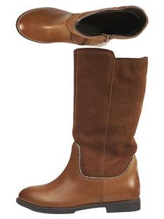 Light brown Boots GFBOTTEMEL / 19WK35X4D10804