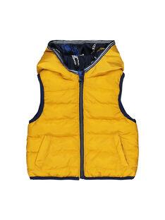 Baby boys' hooded padded jacket FUGROBLOU1EX / 19SG10X1PAR070