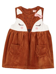 Brown Dress GIJAUROB2 / 19WG09H1ROB817