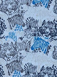Reversible blue and white T-shirt - Child Boy LOBLETEE1 / 21S902J1TMLC208