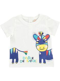 Baby boys' short-sleeved T-shirt CUFRITI1 / 18SG10H1TMC000