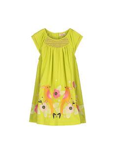 Light green Dress FAPOROB3 / 19S901C3ROB605
