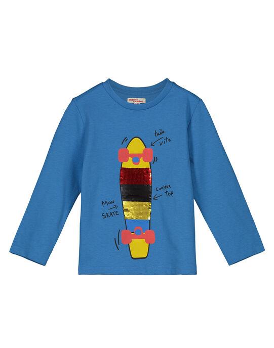 Blue T-shirt GOBLETEE2 / 19W90291TMLC232