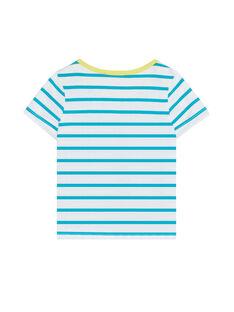 Blue T-shirt JUJOTI1 / 20SG10T3TMCC242