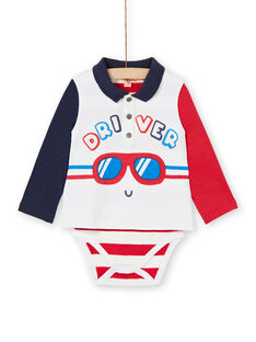Off white baby boy bodysuit LUHABOD1 / 21SG10X2BOD001