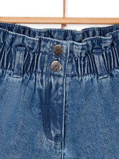 Blue denim shorts LANAUSHORT / 21S901P1SHOP274