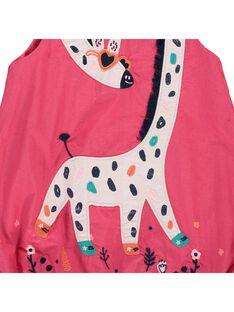 Baby girls' sleeveless dress CIHOROB1 / 18SG09E1ROBF503