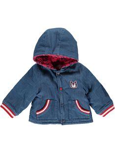 Baby boys' hooded jacket CUDEVES / 18SG10F1VES704