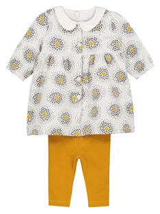 Unisex babies' smock and leggings set GOU1ENS6 / 19WF0511ENS001