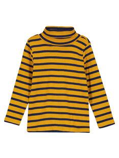 Yellow under-sweater GOJOSOUP3 / 19W902L4D3BB107