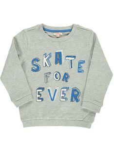 Boys' fleece sweatshirt COJOSWE2 / 18S902R2SWBJ908