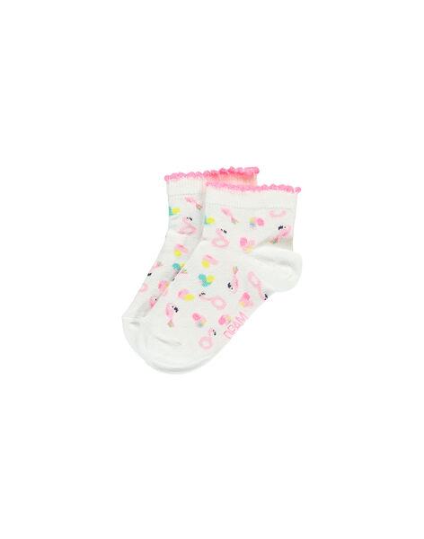 Girls' ankle socks FYACUCHO / 19SI01N1SOQ000