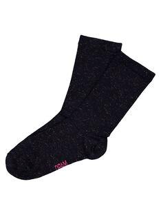Navy Socks GYAJOSCHO3 / 19WI0131SOQ070