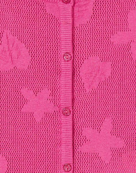 Fushia CARDIGAN LAVICAR / 21S901U1CAR304