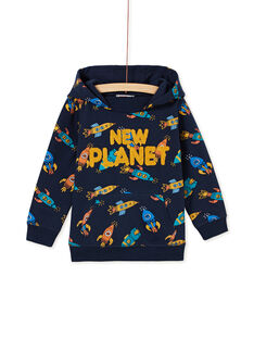 Navy SWEAT SHIRT KOGOSWE / 20W902L1SWE705