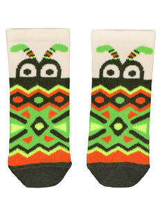 Baby boys' printed socks FYUYECHO / 19SI10M1SOQ001