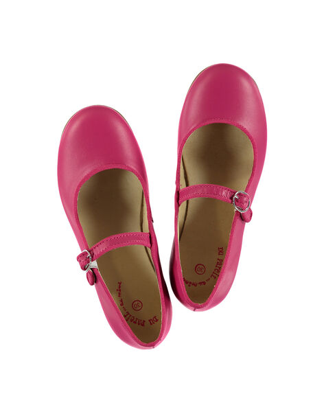 Girls' smart leather Mary-Janes FFBABBRIDE2 / 19SK35C4D13304