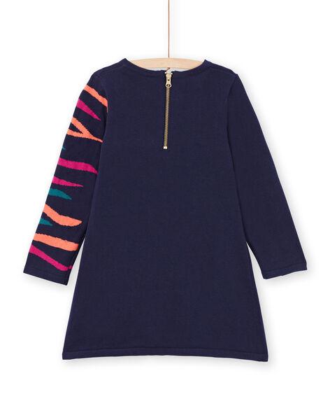 Baby girl navy blue dress MATUROB3 / 21W901K1ROB070