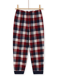 Boy's reversible sequined car pajama set MEGOPYJSPOR / 21WH1232PYJ080