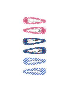 Multicolor Hair clip FYACOCLIC2 / 19SI01V4BRT099