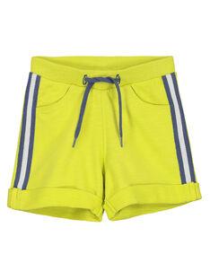 Baby boys' comfy shorts FUJOBER10 / 19SG10G4BERB105