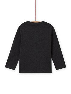 Boy's long sleeve t-shirt with eagle print MOSAUTEE2 / 21W902P4TML944