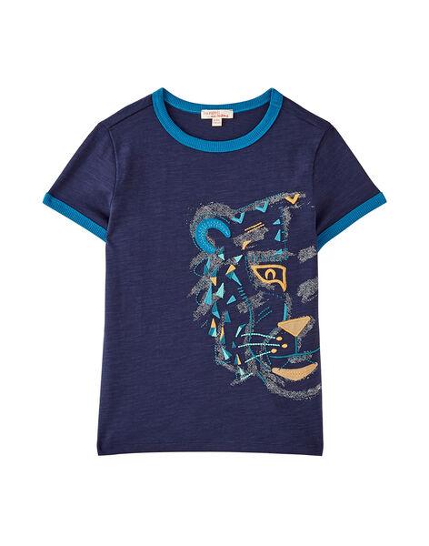 Navy T-shirt JOJATI2 / 20S902B2TMC705