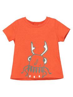 Orange T-shirt FUJOTI9 / 19SG10G4TMC400