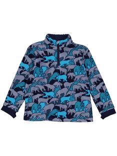 Grey Sweat Shirt GOSKIPUL / 19W902W1SWE940