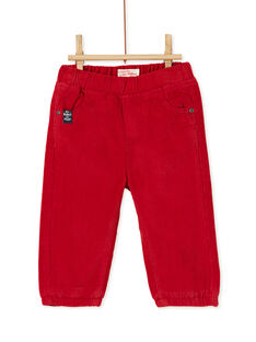 Red PANTS KUJOPAN3 / 20WG1053PANF528