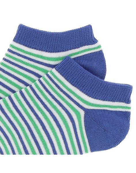 Boys' striped ankle socks CYOJOCHO11A / 18SI02S9SOQ201