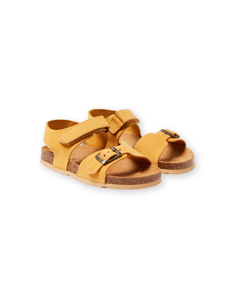 Boys' yellow sandals LGNUJAUNE / 21KK3659D0E010