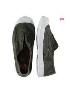 Kaki Sneakers FGTENKI / 19SK36B8D16604