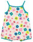Baby girls' short sleepsuit FEFIGRELEA / 19SH13H4GRE000