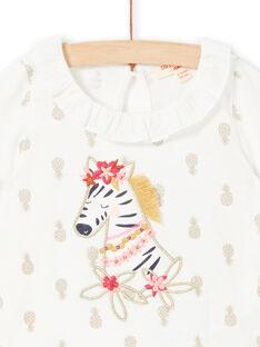 Baby Girl Pineapple T-Shirt LITERBRA / 21SG09V1BRA001