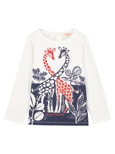 White t-shirt GATRITEE1 / 19W901J1TML001