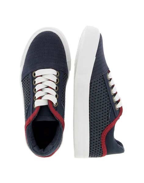 Boys' canvas trainers CGTENRES / 18SK36O5D16070