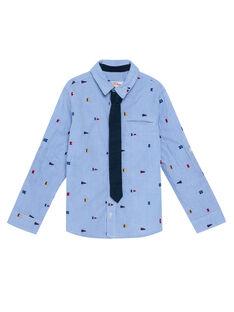 electric blue Shirt JOWECHEM1 / 20S90291CHM217
