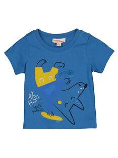 Baby boys' printed short-sleeved T-shirt GUBLETI / 19WG1091TMCC232