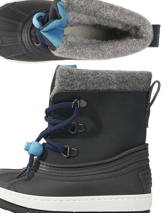 Navy Mountain boots GBGMONTGI / 19WK38W3D3N070