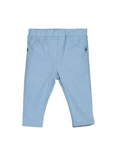 Baby girls' trousers FIJOPAN2 / 19SG0933PAN721