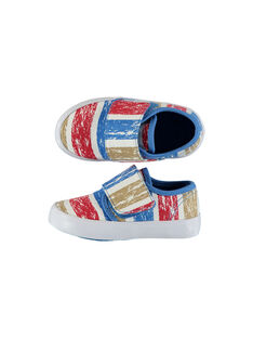 Baby boys' canvas trainers FBGVELSTRI / 19SK38C5D16099