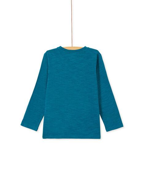 Dark Turquoise LONGSLEEVE T-SHIRT KOJOTEE11 / 20W90244D32C217