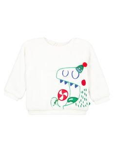White Sweat Shirt GUNOSWE / 19WG10V1SWE000