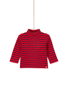 Red ROLL-NECK KUJOSOUP3 / 20WG1044SPLF517