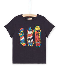 Black and red T-shirt - Child boy LOPOETI2 / 21S902Y1TMCJ900