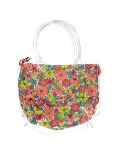 Girls' transparent beach bag CYABAG / 18SI0191BES961