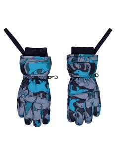 Grey Gloves GYOSKIGAN / 19WI02W1GAN940